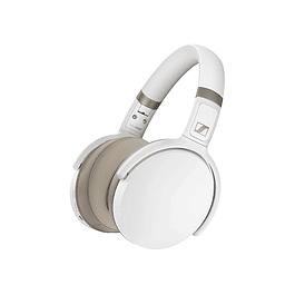 AUDIFONOS SENNHEISER HD 450 OVER EAR BLUETOOTH NC BLANCO