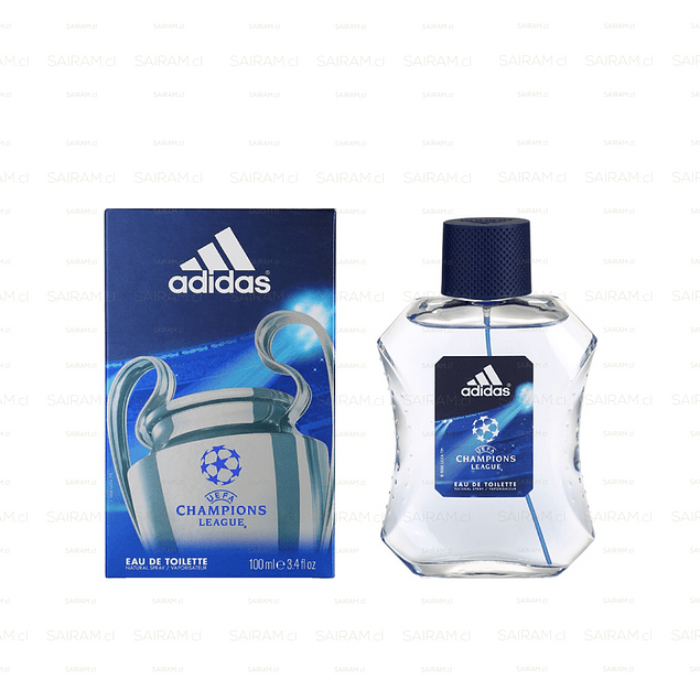 PERFUME ADIDAS CHAMPIONS LEAGUE UEFA VARON EDT 100 ML