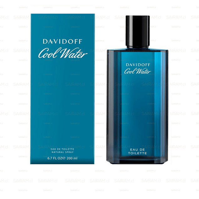 Perfume Cool Water Hombre Edt 200 ml