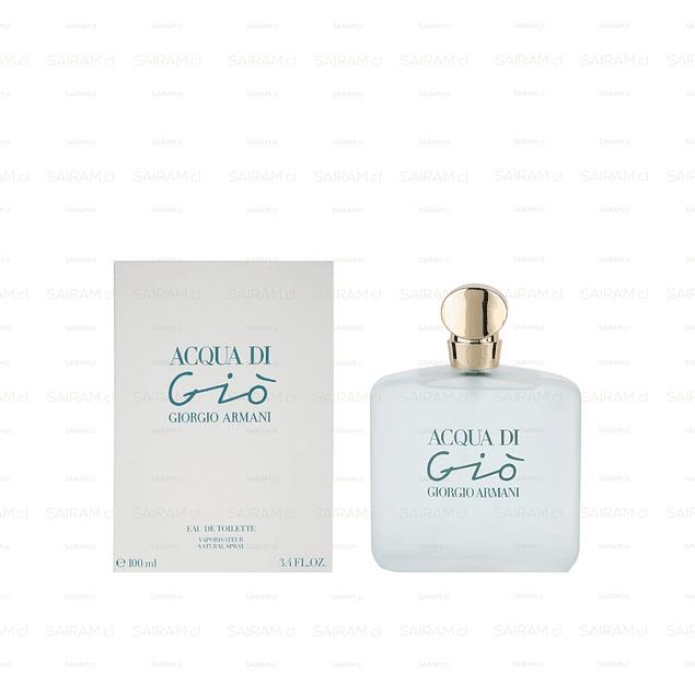 Perfume Acqua Di Gio Mujer Edt 100 ml