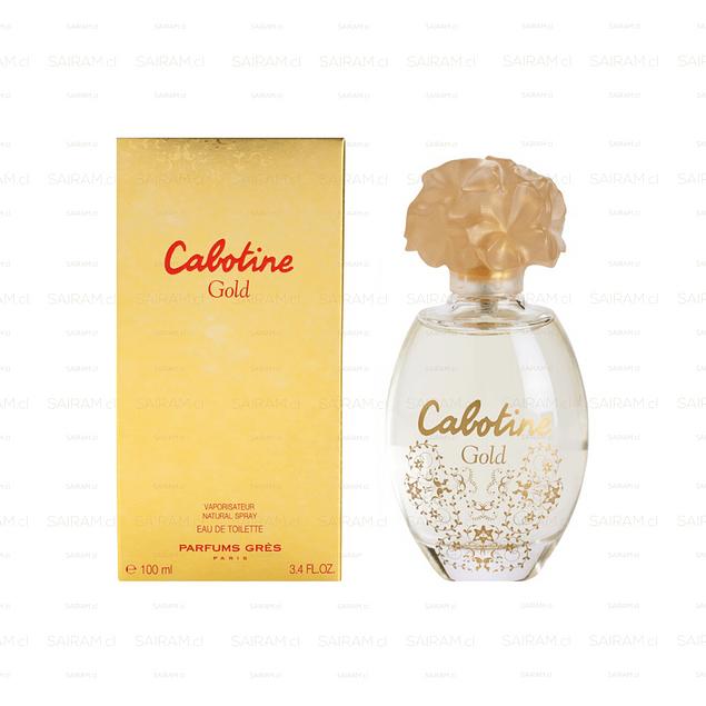PERFUME CABOTINE GOLD MUJER EDT 100 ML