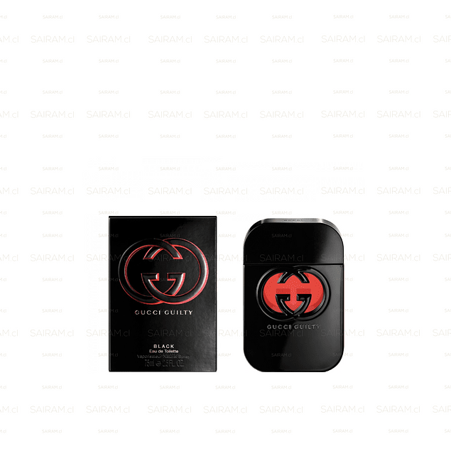 Perfume Gucci Guilty Black Mujer Edt 75 ml
