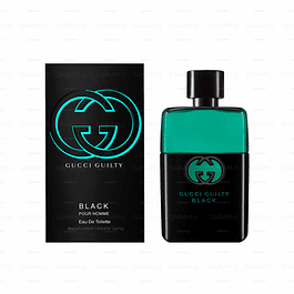 Perfume Gucci Guilty Black Hombre Edt 90 ml