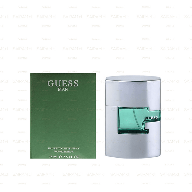 PERFUME GUESS MAN HOMBRE EDT 75 ML