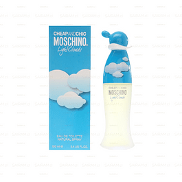 PERFUME LIGHT CLOUDS MOSCHINO MUJER EDT 100 ML