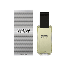 Perfume Quorum Silver Varon Edt 100 ml