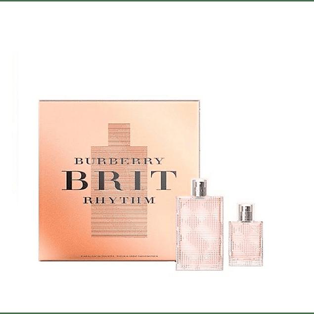 Perfume Brit Rhythm Dama Edt 90 ml Estuche