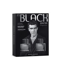 Perfume Black Seduction Hombre Edt 100 ml Estuche