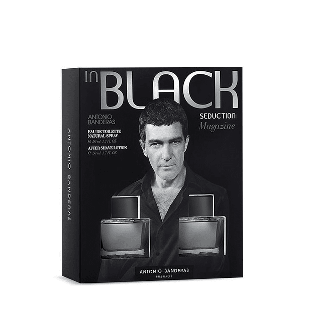 Perfume Black Seduction Varon Edt 100 ml Estuche