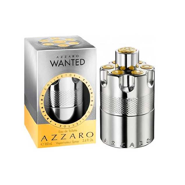 Perfume Azzaro Wanted Hombre Edt 100 ml