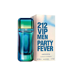 Perfume 212 Vip Party Fever Varon Edt 100 ml