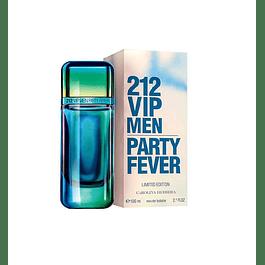 Perfume 212 Vip Party Fever Varon Edt 100 ml