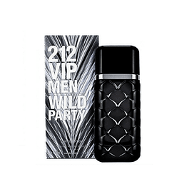 Perfume 212 Vip Wild Party Varon Edt 100 ml