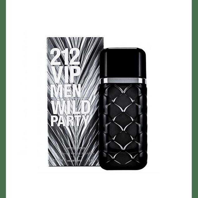 Perfume 212 Vip Wild Party Varon Edt 100 ml