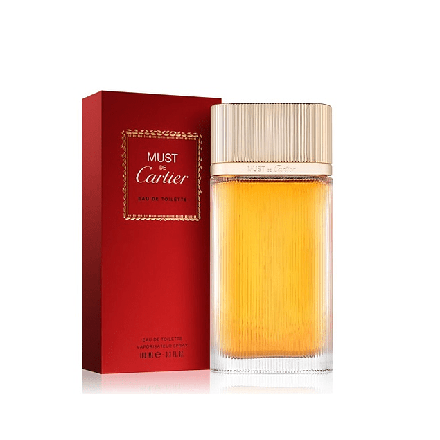 Perfume Must Cartier Femme Dama Edt 100 ml