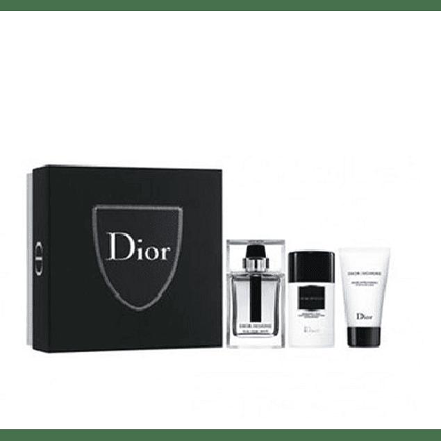 Perfume Dior Homme Eau For Men Varon Edt 100 ml Estuche