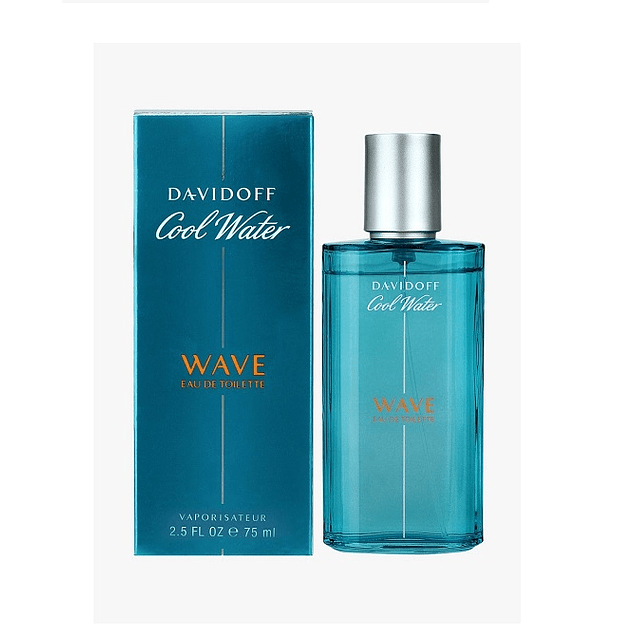 Perfume Cool Water Wave Hombre Edt 75 ml