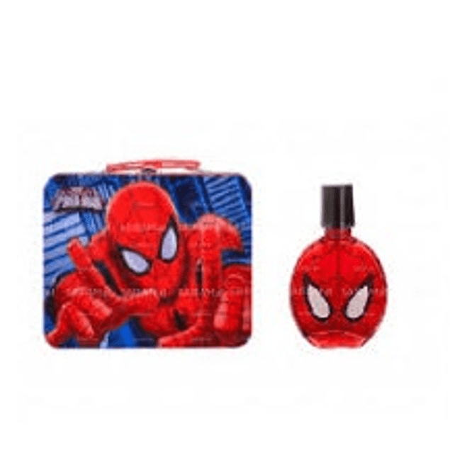 Perfume Spiderman Niño Edt 100 ml / Metalic Bag (6154) Estuche