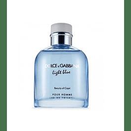 Perfume Light Blue Beauty Of Capri Varon Edt 125 ml Tester