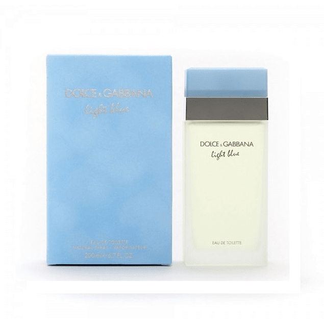 Perfume Light Blue Dama Edt 200 ml