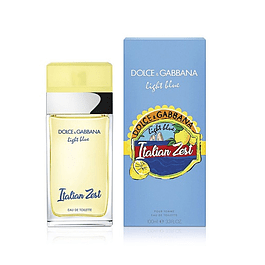 Perfume Light Blue Italian Zest Dama Edt 100 ml