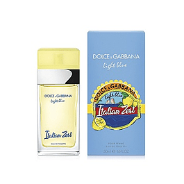 Perfume Light Blue Italian Zest Dama Edt 50 ml