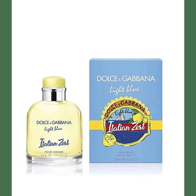 Perfume Light Blue Italian Zest Hombre Edt 125 ml