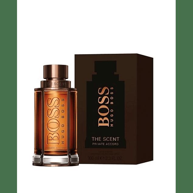 Perfume Boss The Scent Private Accord Hombre Edt 100 ml