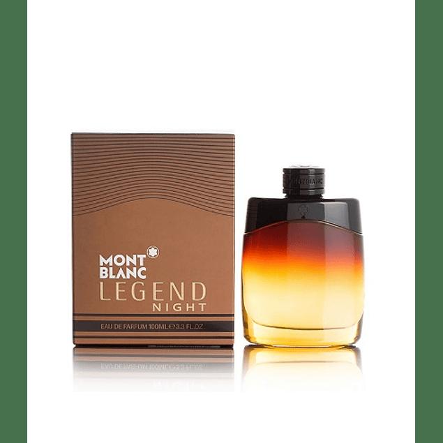 Perfume Mont Blanc Legend Night Hombre Edp 100 ml