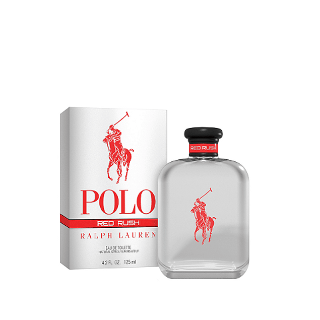 Perfume Polo Red Rush Hombre Edt 125 ml