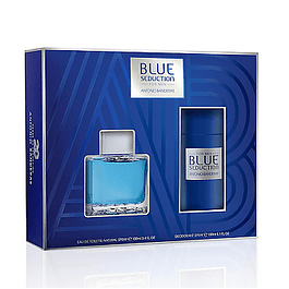 Perfume Blue Seduction Hombre Edt 100 ml Estuche