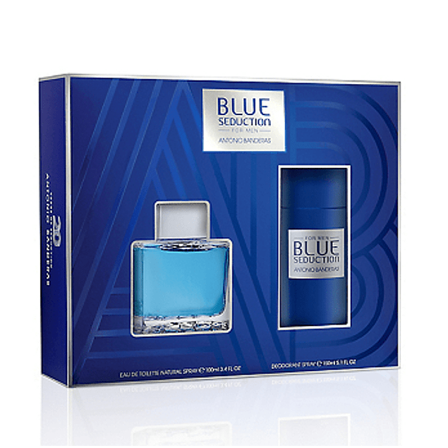 PERFUME BLUE SEDUCTION VARON EDT 100 ML ESTUCHE
