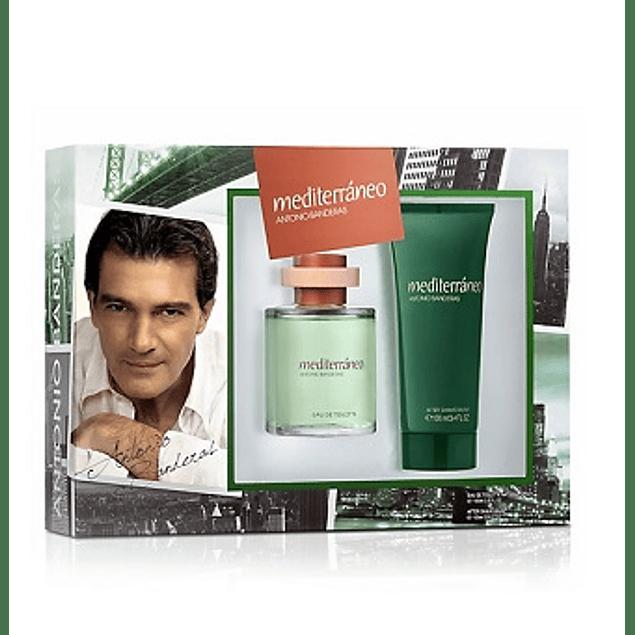Perfume Mediterraneo Hombre Edt 100 ml Estuche