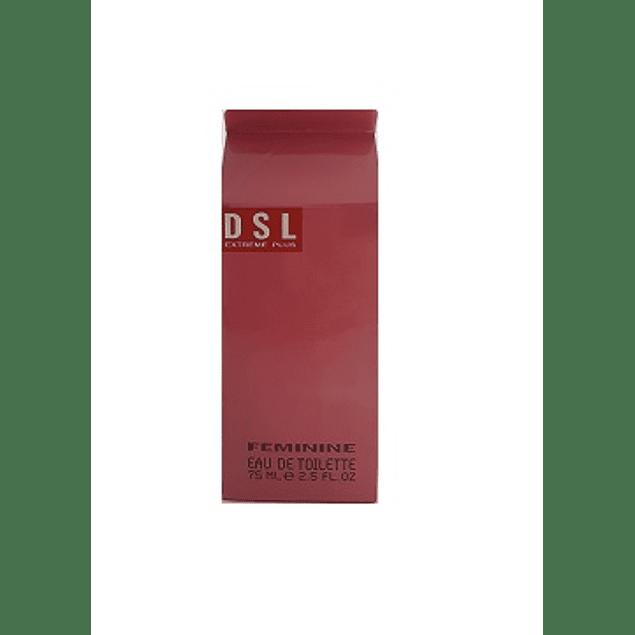 Perfume Dsl Extreme Plus Dama Edt 75 ml