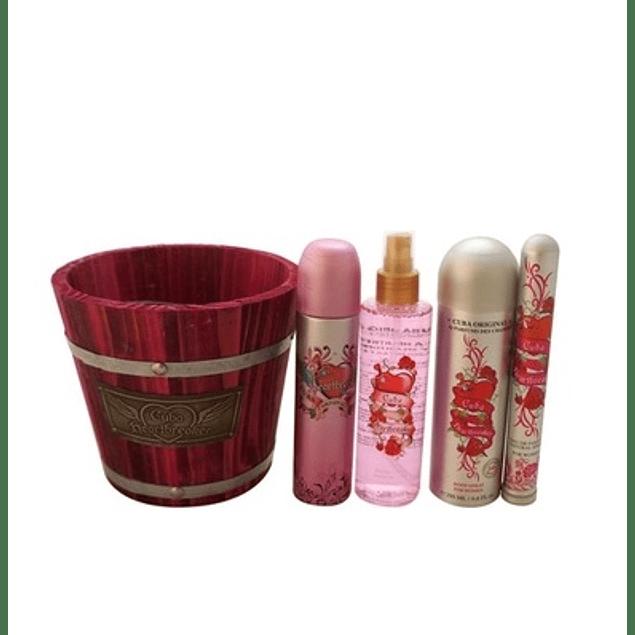 Perfume Cuba Balde Heartbreaker Mujer Edp 100 ml Estuche