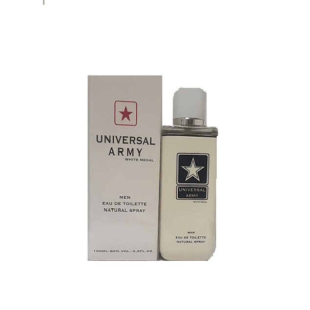 Perfume Universal Army White Medal Hombre Edt 100 ml