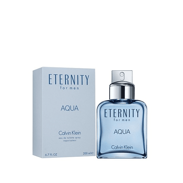 Perfume Eternity Aqua Varon Edt 200 ml