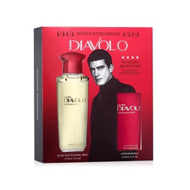 Perfume Diavolo Varon Edt 100 ml Estuche