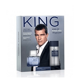 Perfume King Seduction Hombre Edt 100 ml Estuche