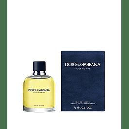 Perfume Dolce Gabbana Pour Homme Hombre Edt 75 ml