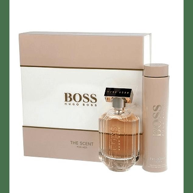 Perfume Boss The Scent Mujer Edp 100 ml Estuche