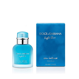 Perfume Light Blue Eau Intense Hombre Edp 50 ml