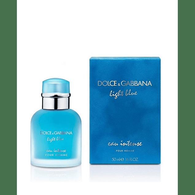 Perfume Light Blue Eau Intense Hombre Edp 50 ml