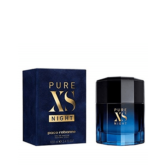 Perfume Xs Pure Night Varon Edt 100 Ml