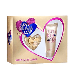 Perfume Love Glam Love Dama Edt 80 ml Estuche