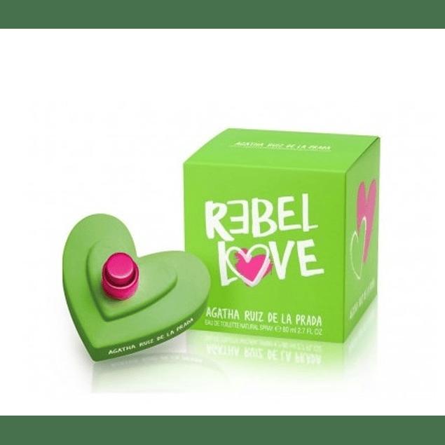 Perfume Love Love Love Rebel Mujer Edt 80 ml