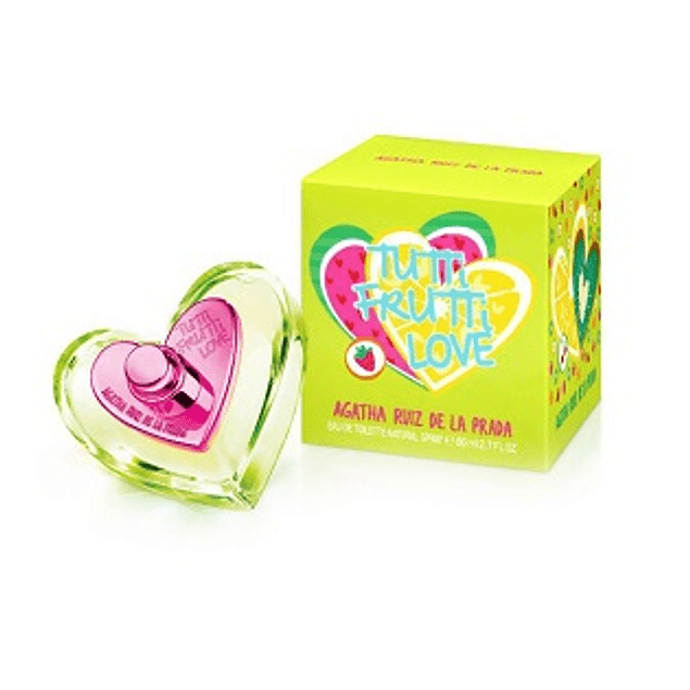 Perfume Tutti Frutti Love Dama Edt 80 ml