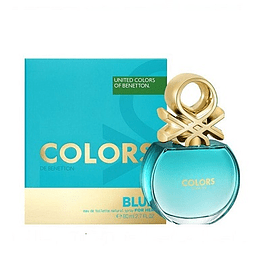 Perfume Benetton United Colors Blue Dama Edt 80 ml