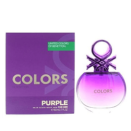Perfume Benetton United Colors Purple Dama Edt 80 ml