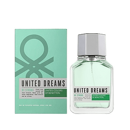 Perfume Benetton United Dreams Be Strong Hombre Edt 100 ml